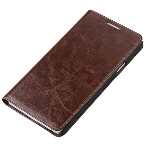 Vicenzo Leather Brown Hudson Samsung Galaxy S6 Genuine Leather Protective Case