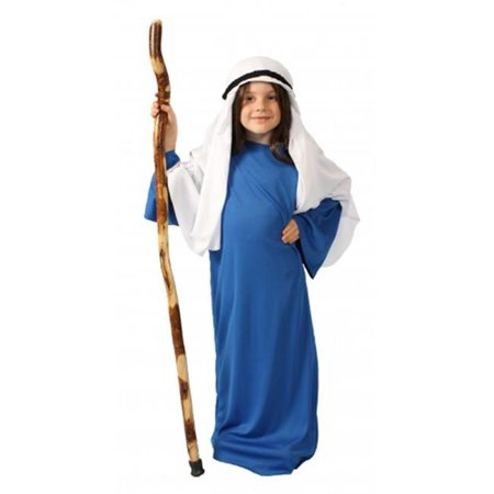 Alexander Costume 60-316-DBL Story Of Christ Gown Child - Dark Blue, Large - Dark And Stormy Halloween Costume
