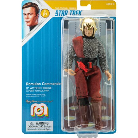 "Mego Action Figure, 8"" Star Trek - Romulan Commander (Limited Edition Collector's Item)"
