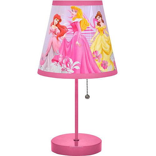 Disney Princesses Glitter Lamp