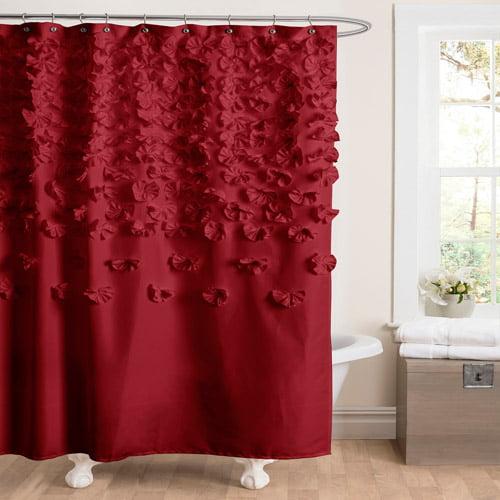Lucia Red Shower Curtain Walmart