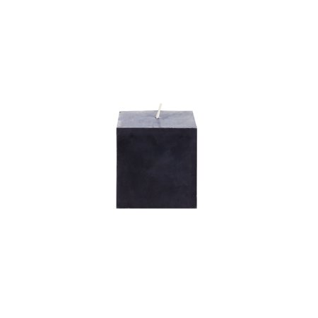 - Mega Candles Unscented Black Square Pillar Candle | Hand Poured Premium Wax Candles 3