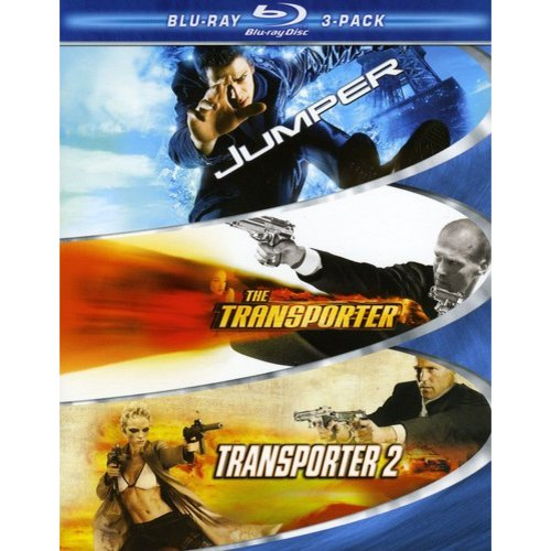 Action 3-Pack: Jumper / Transporter / Transporter 2 (Widescreen)