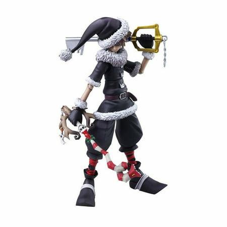 Kingdom Of Hearts 2 Play Arts Sora Xmas Town Action Figure](Halloween Town Kingdom Hearts Music)
