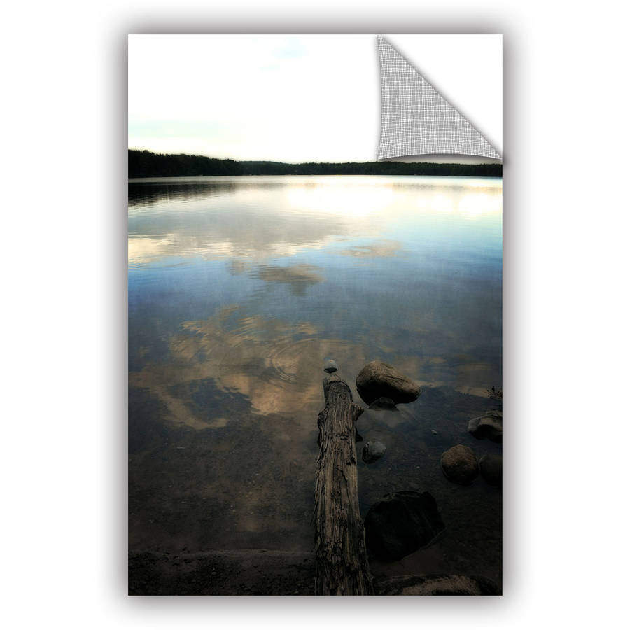 "ArtWall Kevin Calkins ""Reflections on the Lake ""ArtAppealz Removable Wall Art"