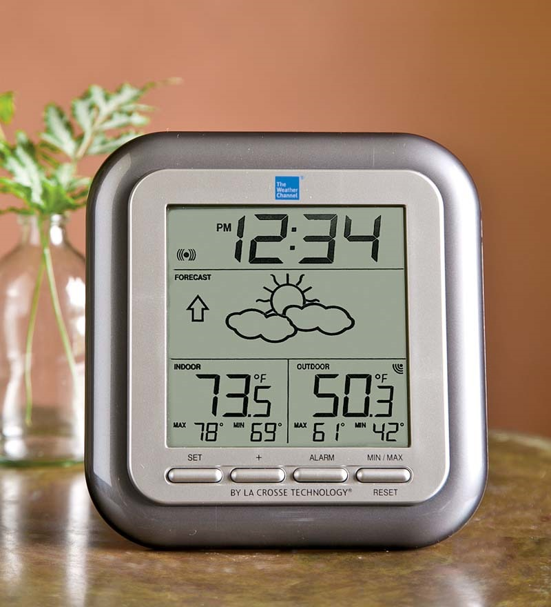 The Weather Channel Wireless Weather Station w Sensor, La Crosse Technology by Problem Solvers