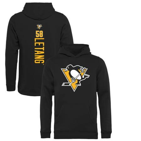 923681e64cc Kris Letang Pittsburgh Penguins Fanatics Branded Youth Backer Pullover  Hoodie - Black - Walmart.com