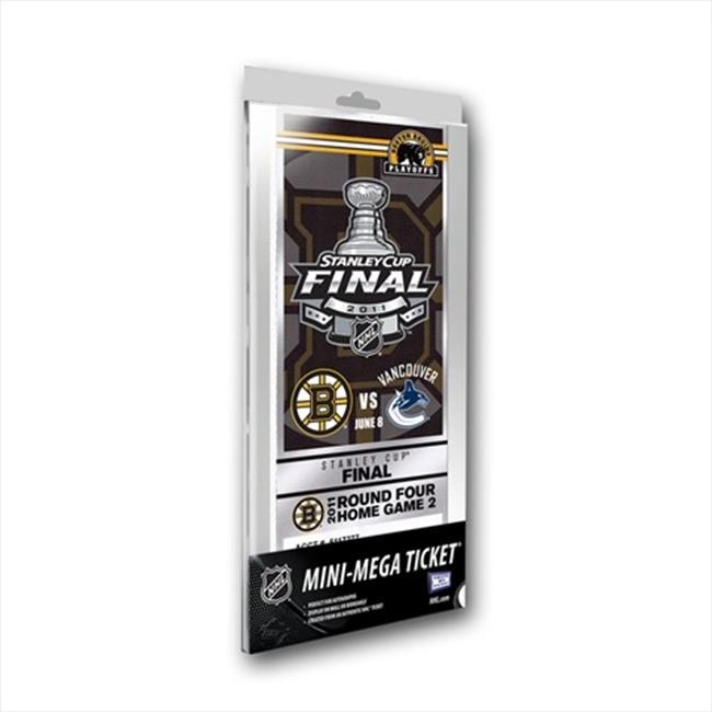 Thats My Ticket NHL Mini-Mega Ticket - 2011 Stanley Cup Finals Boston Bruins Vs Vancouver Canucks