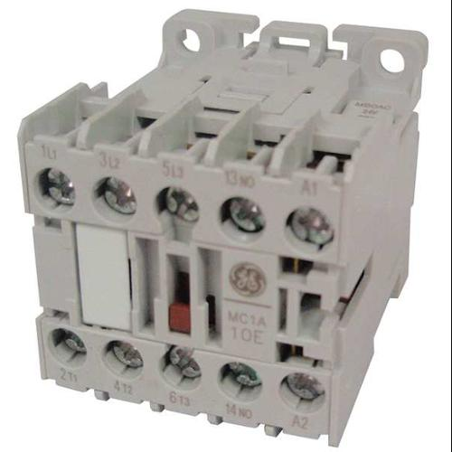 GENERAL ELECTRIC MC2A310ATJ Contactor, IEC, 120VAC, 3P, 12A