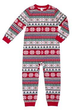 Family Sleep Merry Everything Unionsuit Pajama (Boys or Girls Unisex)