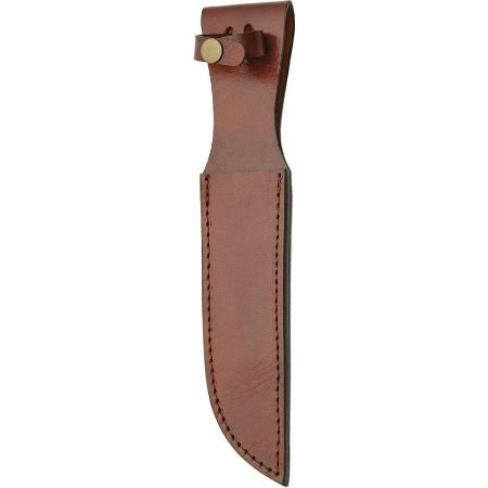 Brown Leather Sheath 7in