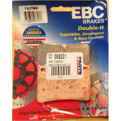 EBC Double-H Sintered Brake Pads Front (2 Sets Required) Fits 08-10 Kawasaki Ninja ZX10R ZX1000C