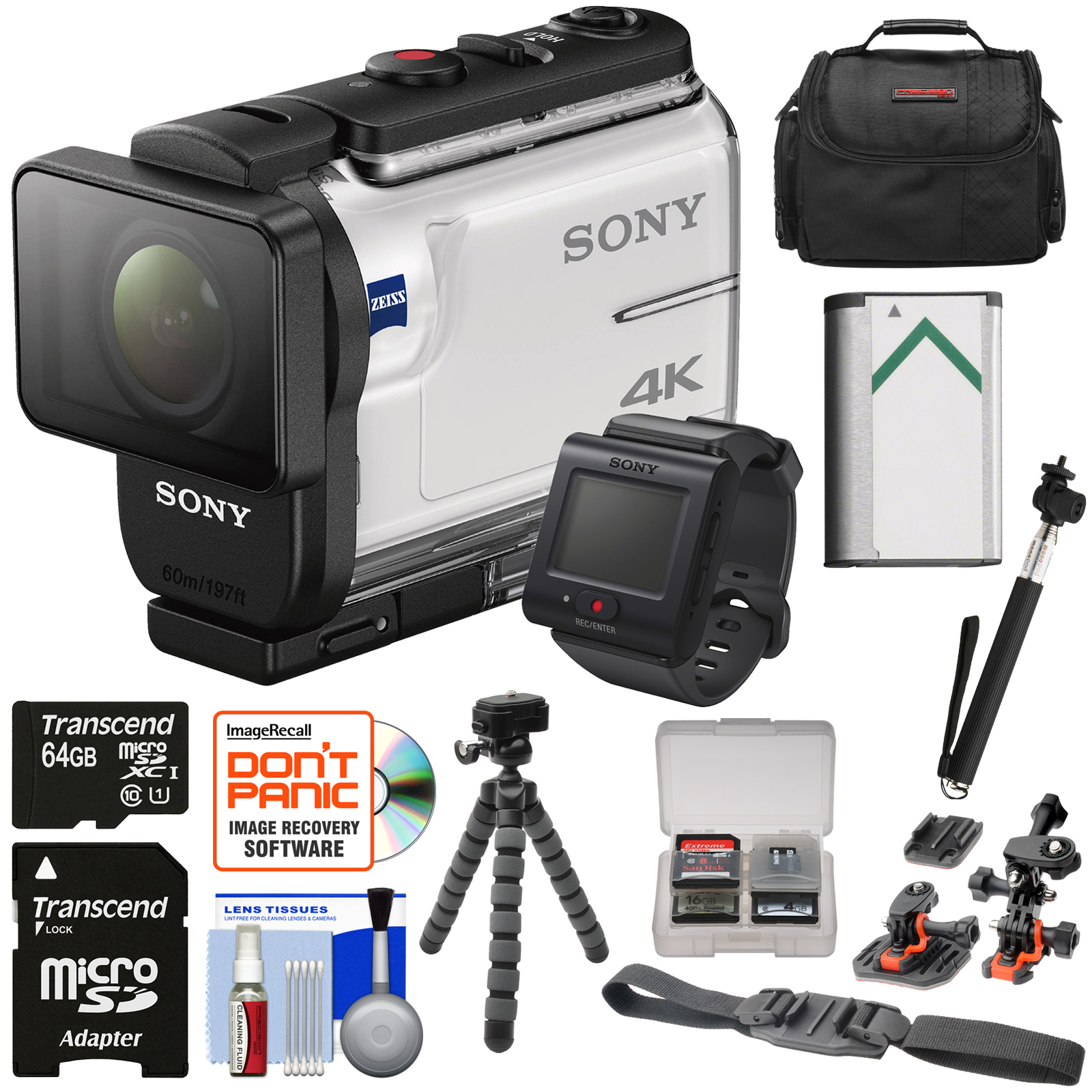 sony action cam fdr x3000r wi fi gps 4k hd video camera