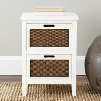 Safavieh Jonah Country Rustic Two Drawer End Table