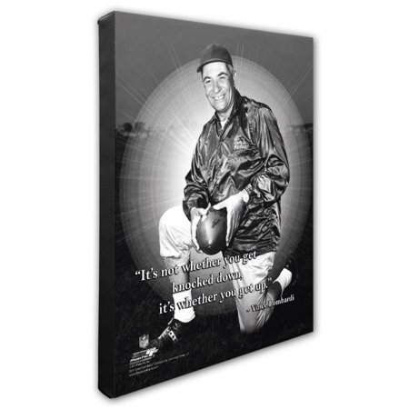 - Photo File Vince Lombardi Green Bay Packers NFL Pro Quote Photograph Canvas Art
