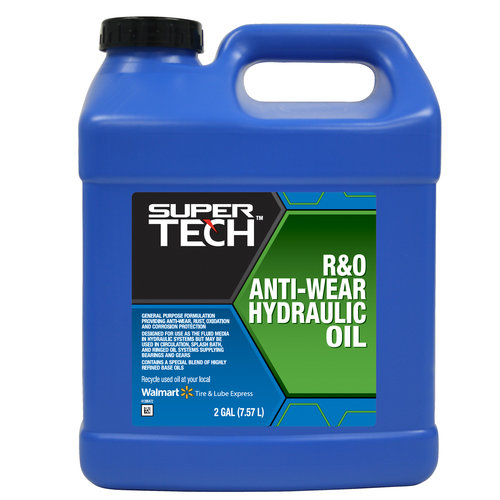 Super Tech R and O Hydraulic Oil, 2 Gallon