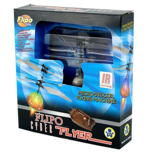 Flipo Group TOY-5542 Cyber Flyer RC Mini Helicopter