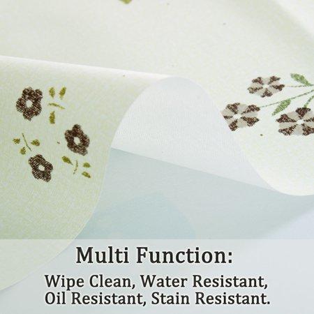 "Tablecloth PVC Rectangle Table Cover Oil Resistant Table Cloth 39"" x 63"", #5 - image 1 de 7"