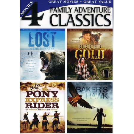 Classic Family Adventures (DVD) - Classic Family Halloween Movies