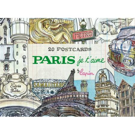 (Paris, Je T'Aime : 20 Postcards Book)