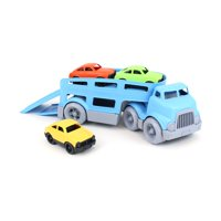 Green Toys Car Carrier with Mini Cars