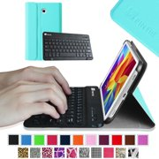 Samsung Galaxy Tab 4 7.0 Inch Keyboard Case - Fintie Ultra Slim Smart Cover with Wireless Bluetooth Keyboard, Blue