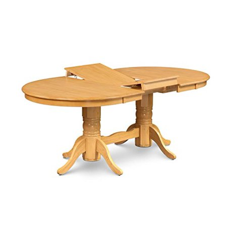 - 5 Piece Dining Room Set Table With A Butterfly Leaf And 4 Dining Chairs-Finish:Oak,Shape:Oval