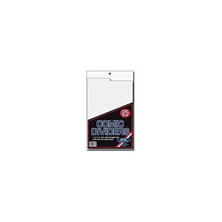 Comic Book Dividers (Pack of 25) - image 1 of 1