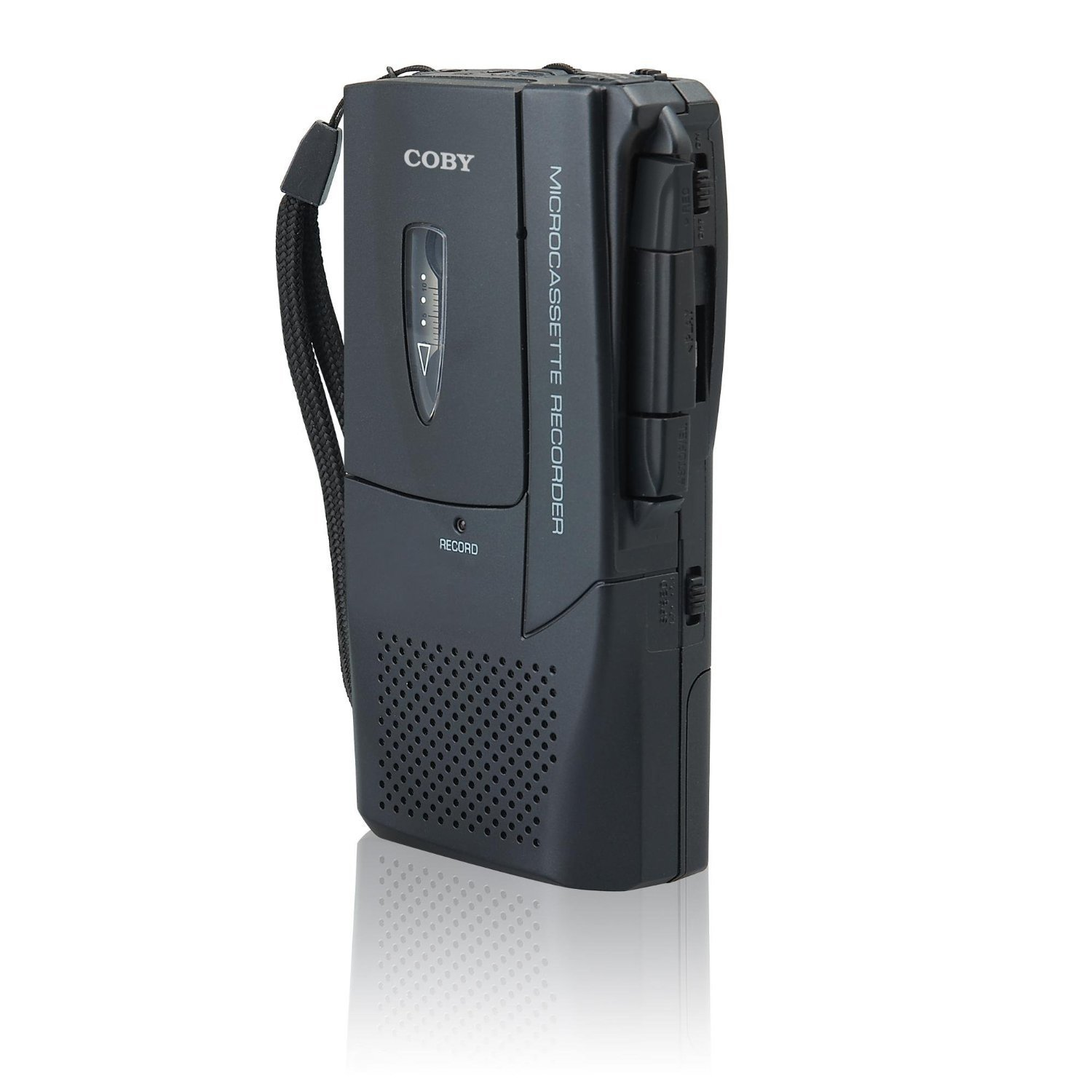 Coby CXR123 Voice Activated Micro_Casette Voice Recorder by Coby