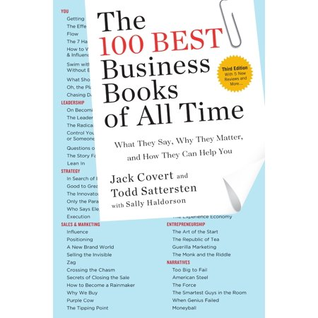 The 100 Best Business Books of All Time : What They Say, Why They Matter, and How They Can Help (Best Selling Psp Games Of All Time)