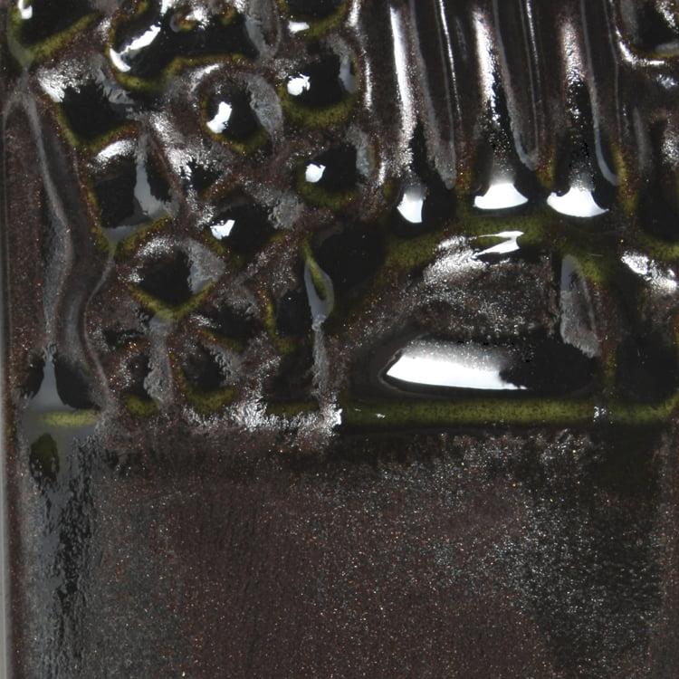Mayco Elements Glaze, Black Adventurine EL137, 1 Pint