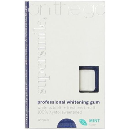 Supersmile Whitening Gum 12 Count