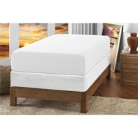 "Signature Sleep Gold Inspire 10"" Memory Foam Mattress with CertiPUR-US certified foam & Foundation: Twin White"