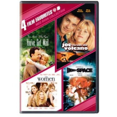 4 Film Favorites  Meg Ryan Collection   Youve Got Mail   Joe Vs  The Volcano   The Women   Innerspace  Widescreen