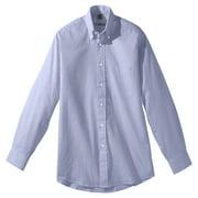 Edwards Garment Men's Long Sleeve Pinpoint Oxford Shirt, Style 1975