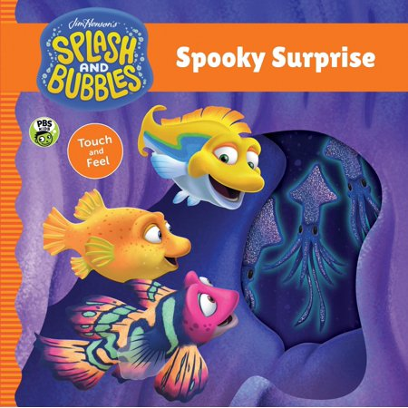 Splash and Bubbles: Spooky Surprise touch and feel board book for $<!---->