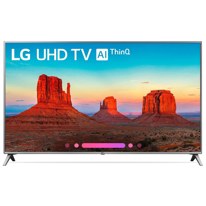 """Refurbished LG 55"""" Class 4K HDR Smart LED AI UHD TV w/ThinQ - 55UK6500AUA"""