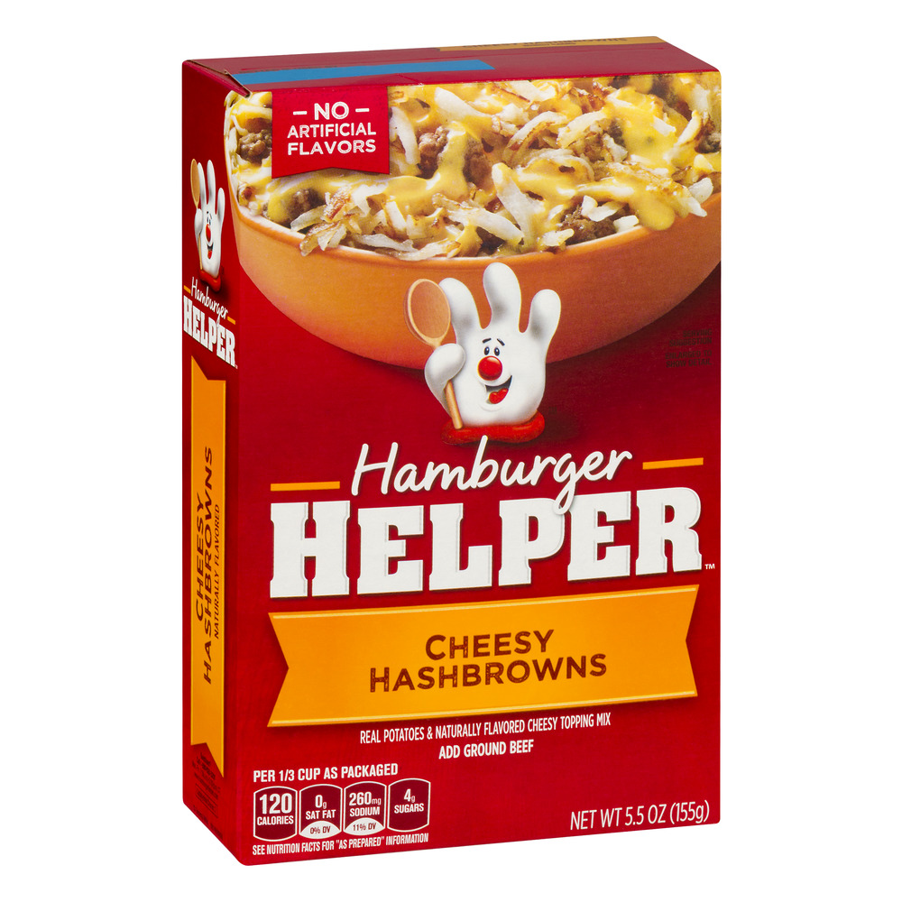 Betty Crocker® Hamburger Helper Cheesy Hashbrowns 5.5 oz Box