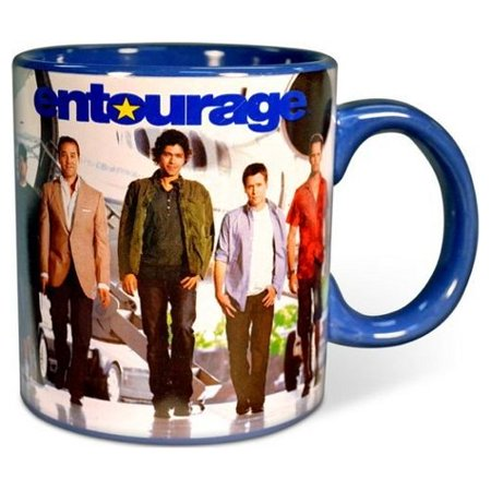 Jumbo Coffee - Entourage HBO TV Show Cast Ceramic 20 Ounce Jumbo Coffee Mug