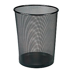 Home Depot Molding - Office Depot Metro Mesh Wire Wastebasket, Black, 22351
