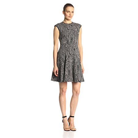 15efb610275d0 Gabby Skye - Gabby Skye Women s Cap Sleeve Printed Fit and Flare Dress