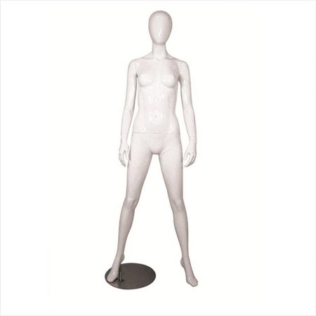 Female Arms By Side Mannequin, Black - image 1 of 1