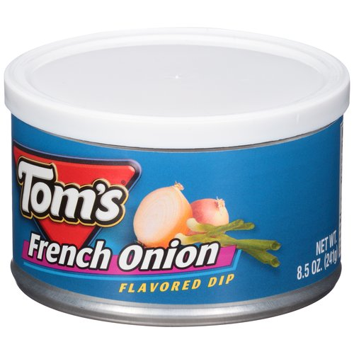 Tom's Sour Cream & Onion Dip, 8.5 oz