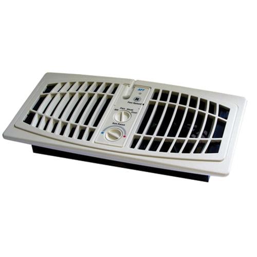 Image of AirFlow Breeze 1000-0001 Register Booster Fan, Almond - 4 x 10 in.
