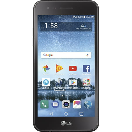 Walmart Family Mobile LG Rebel 3 Prepaid Smartphone (Lg Family Mobile)