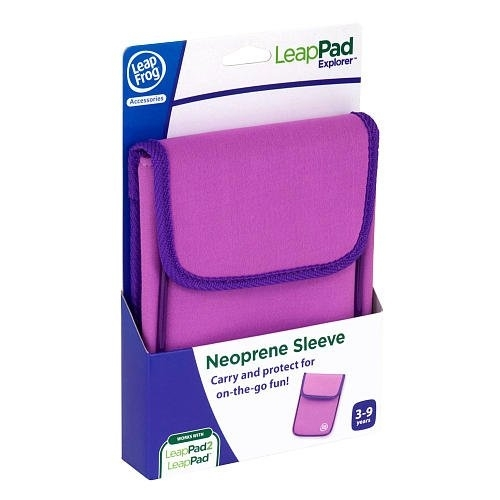 LeapFrog LeapPad Explorer Neoprene Sleeve, Pink (Works with LeapPad2 and Leap...