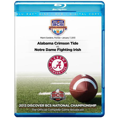 2013 Discover BCS National Championship Game (Blu-ray   DVD)