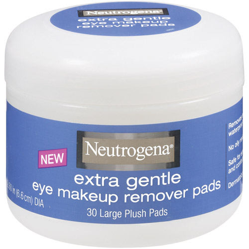 Neutrogena Extra Gentle Eye Makeup Remover Pads, 30 count