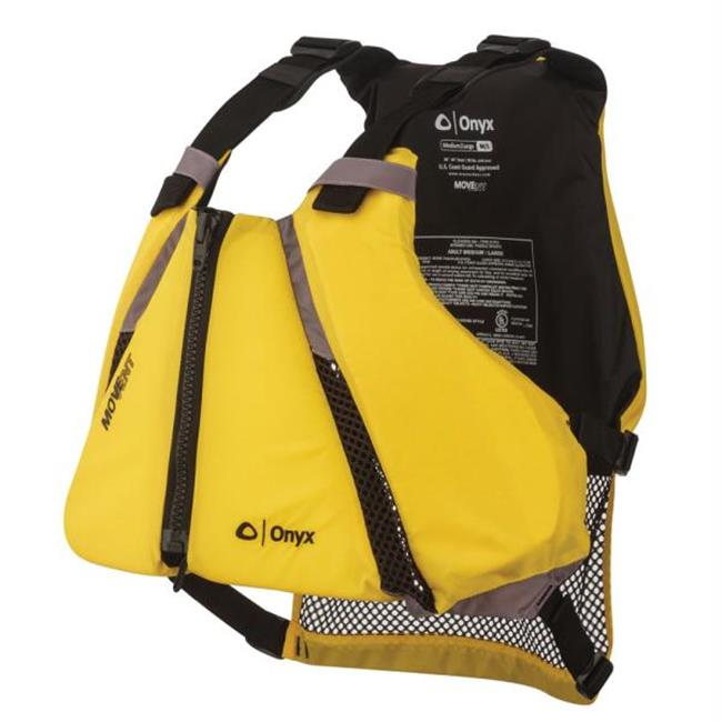 Onyx Outdoor 122000-300-040-14 Move Vent Curve Paddle Sports Life Vest - Medium - Large