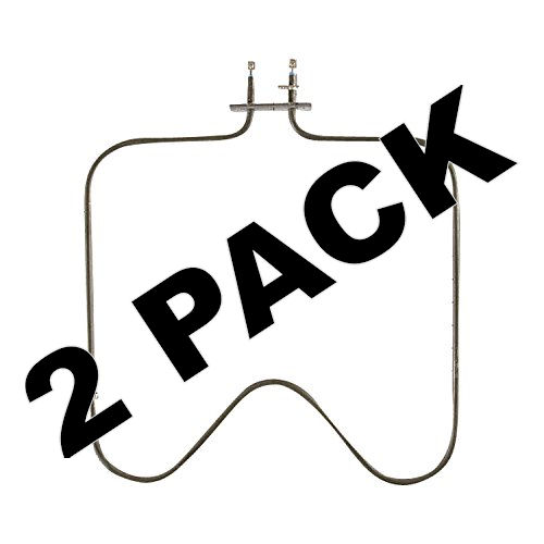 2 Pk, Bake Element for Whirlpool, Maytag, AP4502574, PS4095737, WPY04000066
